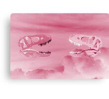 CLOUDOSAURUS REX - PINK Canvas Print