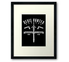 Devil Hunter Framed Print