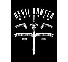 Devil Hunter Photographic Print