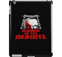 Dawn of the Deadite iPad Case/Skin