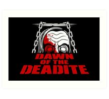 Dawn of the Deadite Art Print