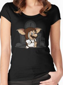 It's-a me, Gizmo! Women's Fitted Scoop T-Shirt