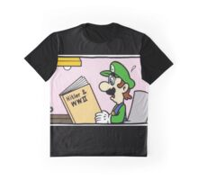 luigi likes to learn Graphic T-Shirt