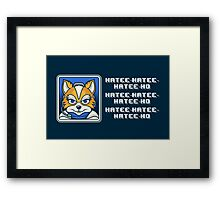 What Does Fox McCloud Say? Framed Print