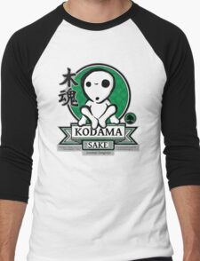Kodama Sake Men's Baseball ¾ T-Shirt