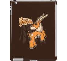 My Little Yakul iPad Case/Skin