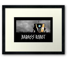 Badass Robot Framed Print