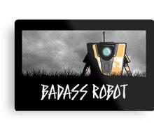 Badass Robot Metal Print