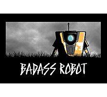 Badass Robot Photographic Print