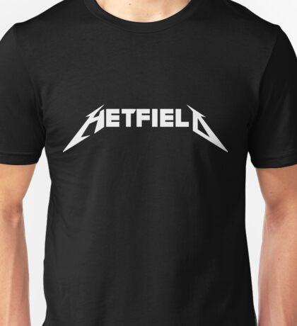 Hetfield White Logo Unisex T-Shirt
