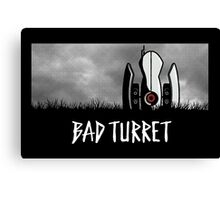 Bad Turret Canvas Print