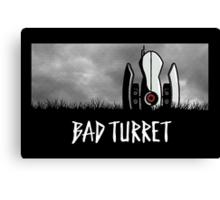 Bad Turret Canvas Print