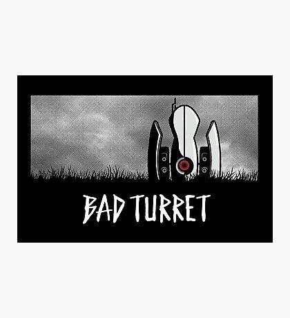 Bad Turret Photographic Print