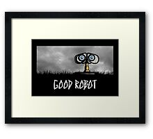 Good Robot Framed Print