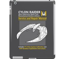 Cylon Raider Service and Repair Manual iPad Case/Skin