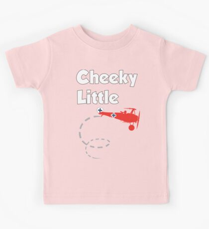 Cheeky Little Fokker Kids Tee