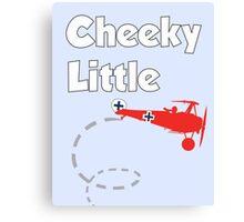Cheeky Little Fokker Canvas Print
