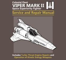 Viper Mark II Service and Repair Manual One Piece - Short Sleeve
