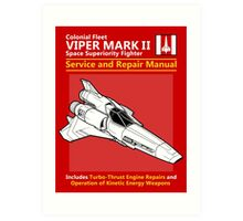 Viper Mark II Service and Repair Manual Art Print