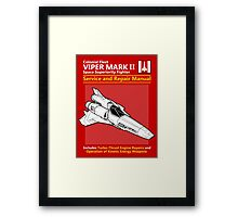 Viper Mark II Service and Repair Manual Framed Print