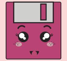Pink storage One Piece - Short Sleeve