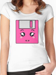 Pink storage Women's Fitted Scoop T-Shirt