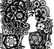 Flower Girl by XENJA DESIGN