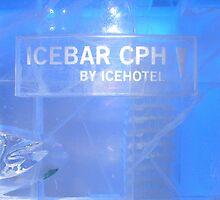 Freezing drunk! Ice Bar - Copenhagen, Denmark by waynebolton