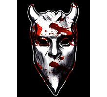 NAMELESS GHOUL - bloody oil paint Photographic Print