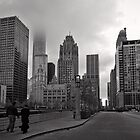Head in the Clouds - Chicago by Norman Repacholi