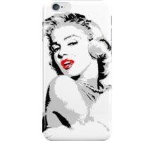 Marilyn Monroe 3 colour iPhone Case/Skin