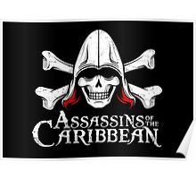 Assassins of the Caribbean Poster