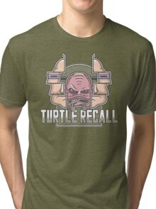 Turtle Recall Tri-blend T-Shirt