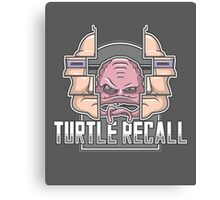 Turtle Recall Canvas Print