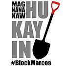 #BlockMarcos Logo by palma tayona