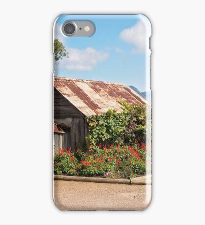 Wooden Hut iPhone Case/Skin