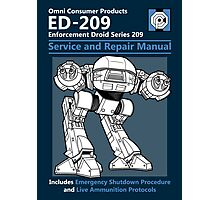 ED-209 Service and Repair Manual Photographic Print