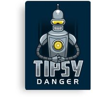 Tipsy Danger Canvas Print