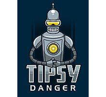 Tipsy Danger Photographic Print