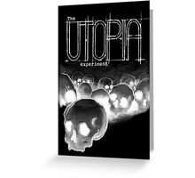 The Utopia Experiments Black Greeting Card