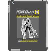 Power Loader Service and Repair Manual iPad Case/Skin