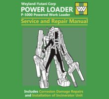 Power Loader Service and Repair Manual One Piece - Short Sleeve