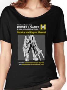Power Loader Service and Repair Manual Women's Relaxed Fit T-Shirt
