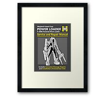 Power Loader Service and Repair Manual Framed Print