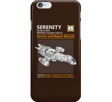 Shiny Service and Repair Manual iPhone Case/Skin