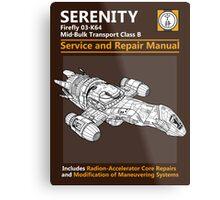 Shiny Service and Repair Manual Metal Print