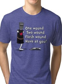 One Wound, Two Wound Tri-blend T-Shirt