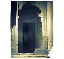 House of Ghosts- Chill Through a Broken Window. Poster
