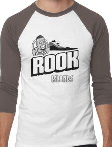 Greetings from Rook Islands Men's Baseball ¾ T-Shirt