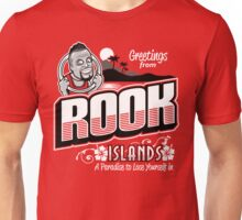 Greetings from Rook Islands Unisex T-Shirt